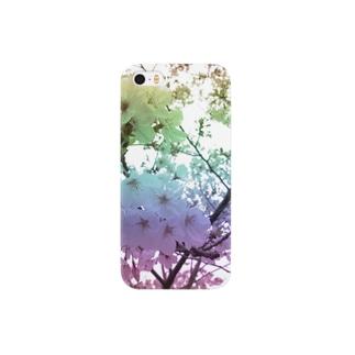 Colorful Photo(SAKURA) Smartphone cases