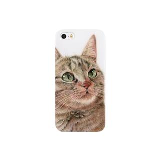 きじ猫さん Smartphone cases