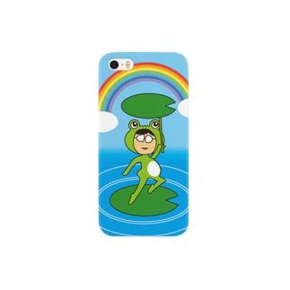 カエルおのちゃん Smartphone cases