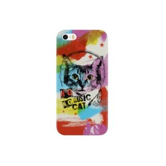 Colorful Music Cat スマートフォンケース
