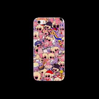 オールナイト虚無のごちゃカバー Smartphone cases