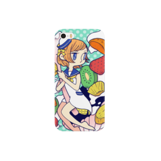 IOQQ. - kcのヨーグルトサラダ Smartphone cases