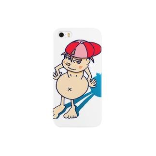 餓鬼っ子鉄ちゃん Smartphone cases