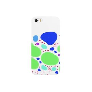 空豆と水たまり Smartphone cases
