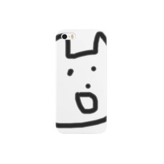 微妙な顔のねこ Smartphone cases