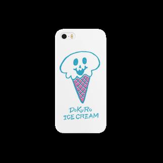 nakkiのDOKURO ICE CREAM Smartphone cases