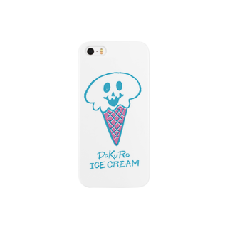 nakkiのDOKURO ICE CREAM Smartphone cases