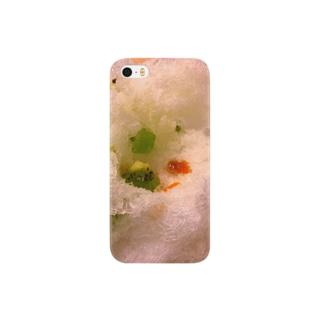 かき氷近め Smartphone cases