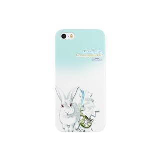 しろうさぎ Smartphone cases