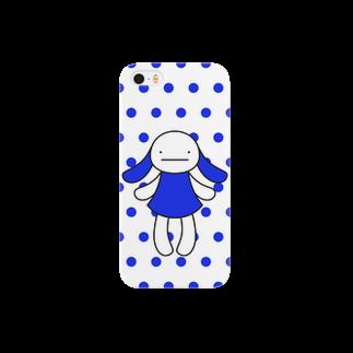 げんちょうの青スマートフォンケース