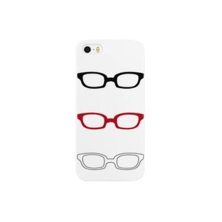 眼鏡 スマートフォンケース