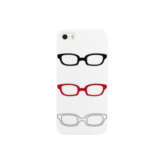 げんちょうの眼鏡スマートフォンケース