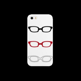 げんちょうの眼鏡 スマートフォンケース