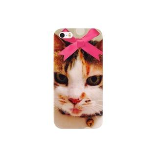 実家猫プー Smartphone cases