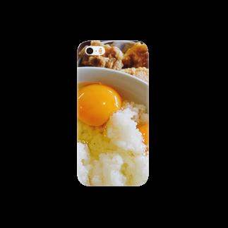 チキン・ラブの卵かけご飯・から揚げスマートフォンケース