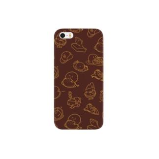 チーズくん Smartphone cases