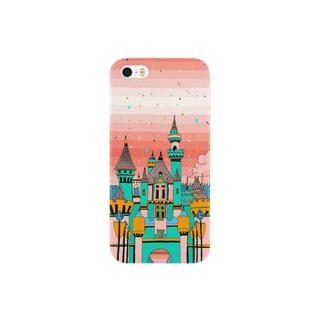『桃色空の展望台』 Smartphone cases