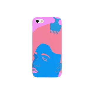 afro PINK Smartphone cases