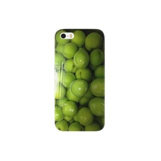 我が家の梅ぇ Smartphone cases