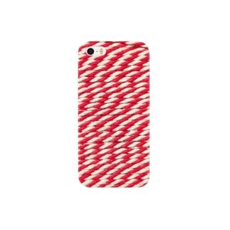 赤い糸 Smartphone cases