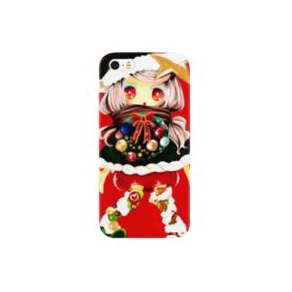 クリスマスちゃん Smartphone cases