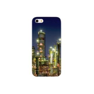 工場夜景(四日市) Smartphone cases