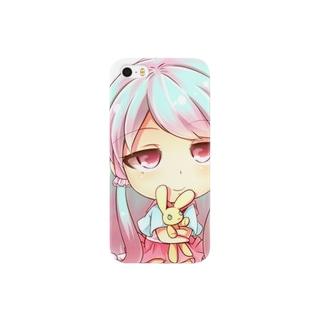 光里の濡れ女ちゃん Smartphone cases