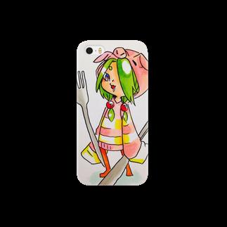 羊23@絶望の空腹のぶーちゃ Smartphone cases