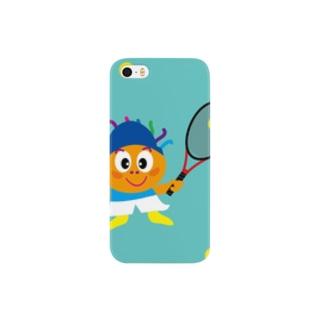 テニスボーイのクレコちゃん Smartphone cases