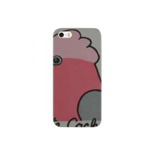 モモイロインコ1 Smartphone cases