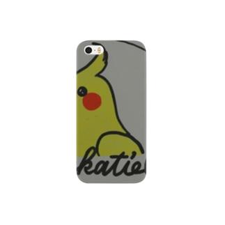 オカメインコ1 Smartphone cases