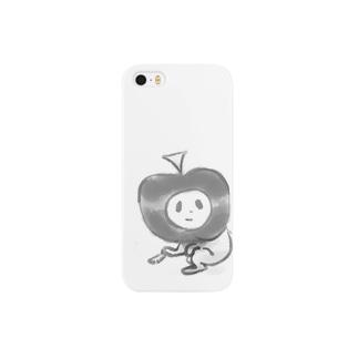 モノクロ一服 Smartphone cases