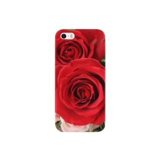 華やかなバラ Smartphone cases