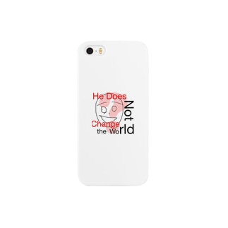 He Does Not Change the World Smartphone cases