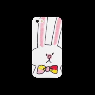 ゆきんこの蝶ネクタイうさぎ Smartphone cases