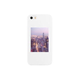 Night View in Chicago Smartphone cases