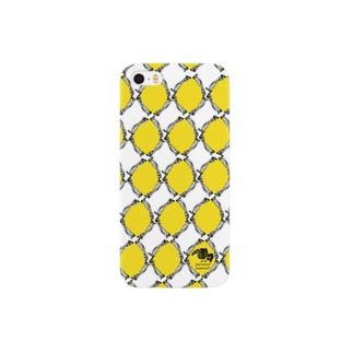 消しゴムはんこde鳥パターン Smartphone cases