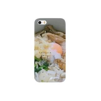 月見うどん *材料入り* Smartphone cases