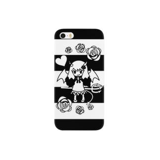 モノクロ小悪魔 Smartphone cases