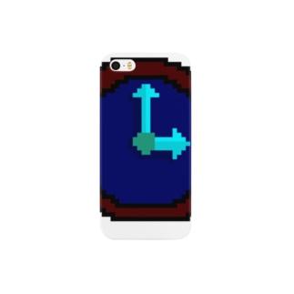 時計アイコン Smartphone cases