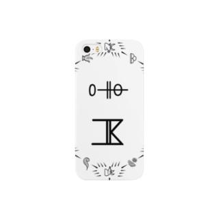 トンパ文字 「中村」 Smartphone cases