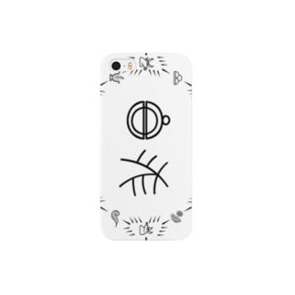 トンパ文字 「鈴木」 Smartphone cases