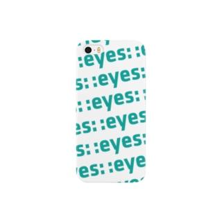 :eyes:って書いとけば Smartphone cases