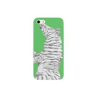 シマウマ Smartphone cases