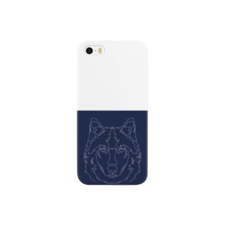 ニホンオオカミ Smartphone cases