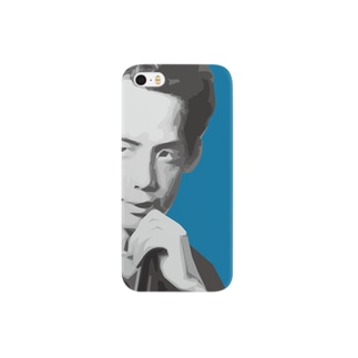 文豪・芥川くん Smartphone cases