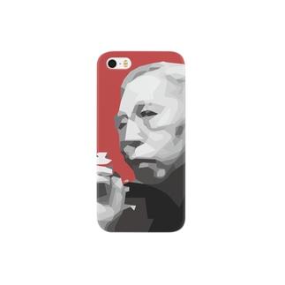 文豪・佐藤春夫くん Smartphone cases