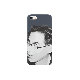 文豪・坂口安吾くん Smartphone cases