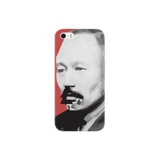 文豪・森鴎外くん Smartphone cases