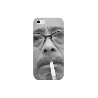 文豪・折口信夫くん Smartphone cases